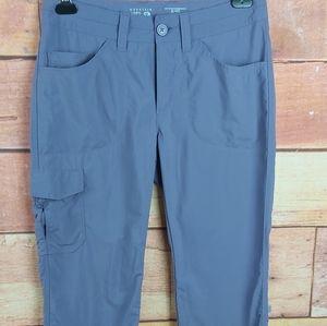 🍄3/45$🍄 Mountain Hardwear hiking stetch capri